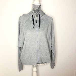 Calvin Klein Performance Jacket Gray Zip XL